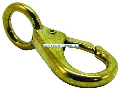 Invincible Marine 4-1/2-Inch Swivel Eye Snap, Brass by Invincible Marine