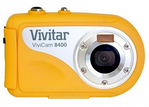 Vivitar 8400YL ViviCam 8 MP Compact System Camera with 2.4-Inch LCD Body Only (Yellow) by Vivitar
