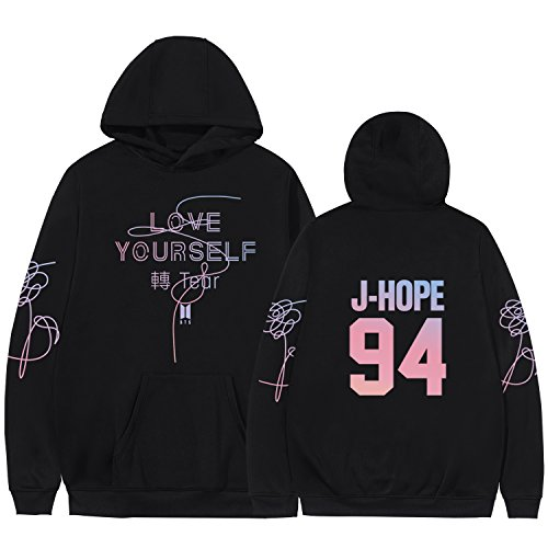 Kpop BTS Hoodie Jin Jimin Suga Jung Kook V Sweater Love Yourself Tear Pullover by babyHealthy (Image #1)