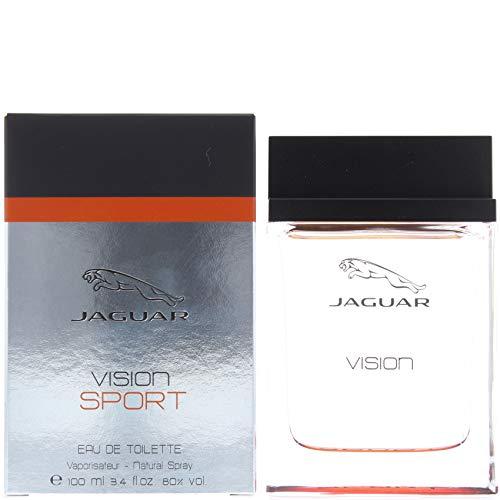 - Jaguar Vision Sport Eau De Toilette Spray for Men, 3.4 Ounce