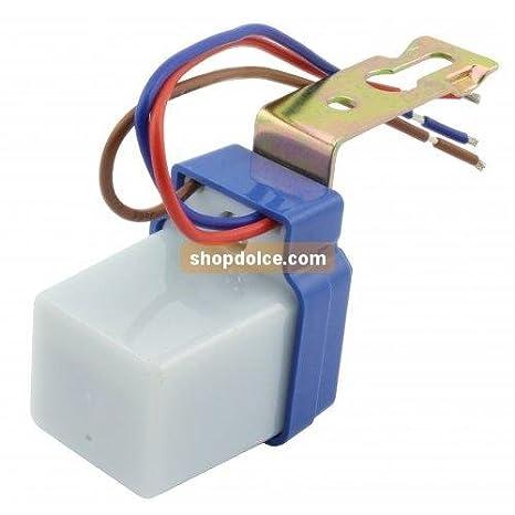 V-TAC Sensor Crepuscular fotocélula para iluminación 56708