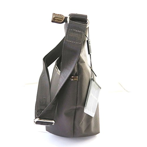 Ted Lapidus [M8625] - Sac besace 'Ted lapidus' gris taupe