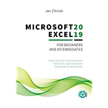 Microsoft Excel 2019 for beginners and intermediates