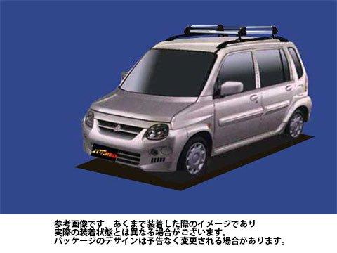 ルーフキャリア HR22 トッポBJワイド / H43A H48A タフレック TUFREQ 精興工業 B06Y15GCXK