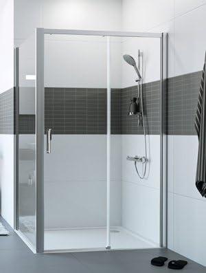 Mampara de ducha Classics 2 en 2 paneles: Un Panel fijo + una ...