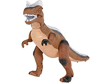 DQTOYS Dinosaurio Andador Marrón 36 CM.: Amazon.es: Juguetes y juegos