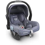 2018 UPPAbaby MESA Infant Car Seat - Henry (Blue Marl) Merino Wool Version/Naturally Fire Retardant