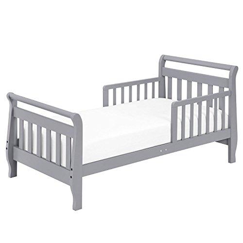Cheap DaVinci Sleigh Toddler Bed, Grey