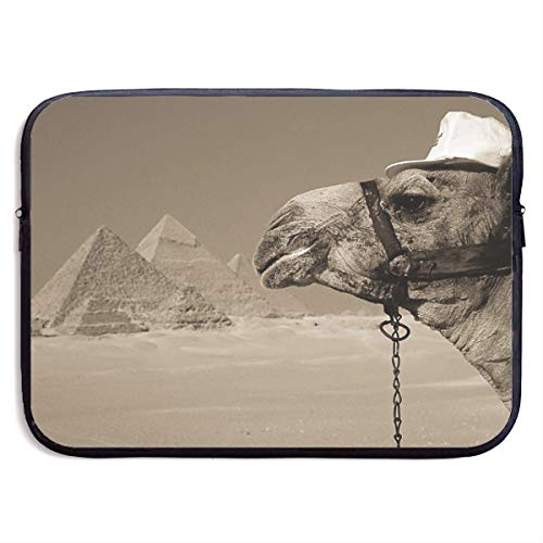 Egypt Pyramid Camel Business Briefcase Laptop Sleeve For 15 Inch Macbook Pro Air Lenovo Samsung Sony