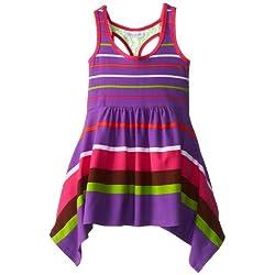 Bonnie Jean Little Girls' Stripe Knit Racerback