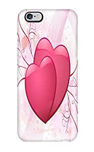 OxRAbMR512IwmWl AmandaSMartin Awesome Case Cover Compatible With Iphone 6 Plus - Couple Of Hearts