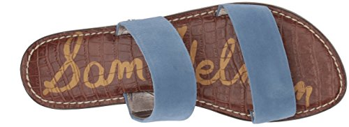 Blue Gala Sam Womens Edelman Sandal Edelman Womens Slide Sam Denim 6XTxwXz7q