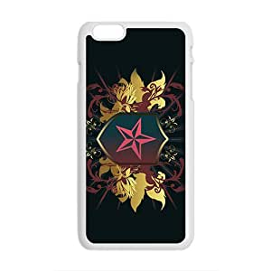 Black Star Badge Custom Protective Hard Phone Cae For Iphone 6 Plus