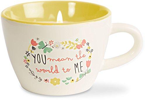 Bloom by Amylee Weeks 74096 Sister Ceramic Teacup Candle by Bloom by Amylee Weeks