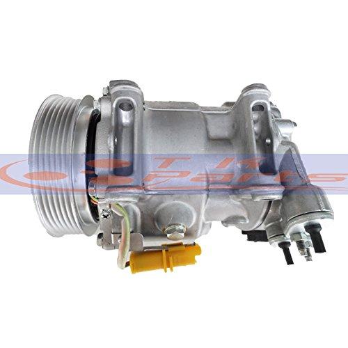 tkparts nuevo a/c compresor 9656572680 para Peugeot 407 Citroen C5 2004 - 2010: Amazon.es: Coche y moto