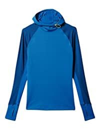 adidas Women's Techfit ColdWeather Pullover Hoodie