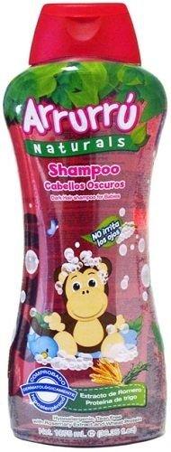 Arrurru Baby Shampoo Cabellos Oscuros 35.8 Fl oz. by Arrurru