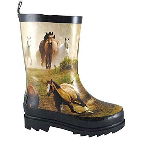 Donna Boot Childs Smoky Mountain Print Running Horse w4Rpz6xXq
