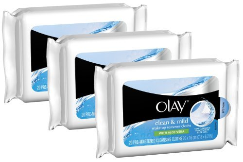 Olay Clean & Mild Make-Up Remover Cloths 20 Count