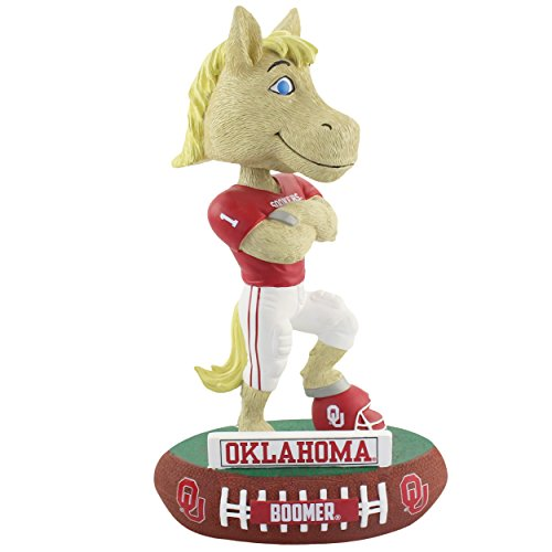 Oklahoma Sooners Collectibles - Forever Collectibles Oklahoma Sooners Mascot Oklahoma Sooners Baller Special Edition Bobblehead