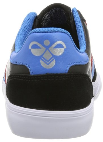 baja Blue Negro LOW Gum STADIL caña HUMMEL unisex cuero SLIMMER de Zapatos Black de Schwarz Red hummel 6xF0ATwq