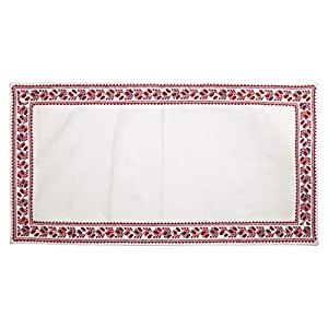Turathna Cotton Classic Runner And Table Piece, Set 2 Pieces - Multi Color