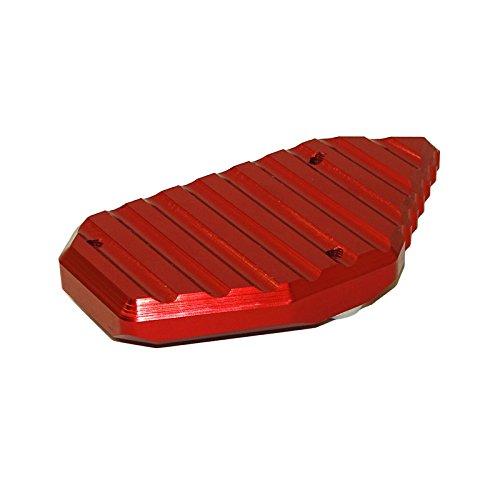 Red Waase base per cavalletto laterale da piede per motociclette supporto piatto per V-Strom 650 DL650 2012 2013 2014 2015 2016