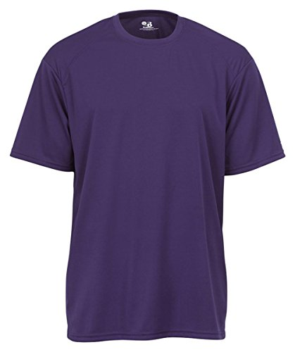 Badger Sportswear Adult B-Core Tee, Purple, Small