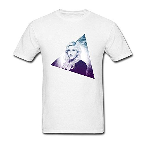 LSLEEVE Men's Meghan Trainor White T-shirt]()