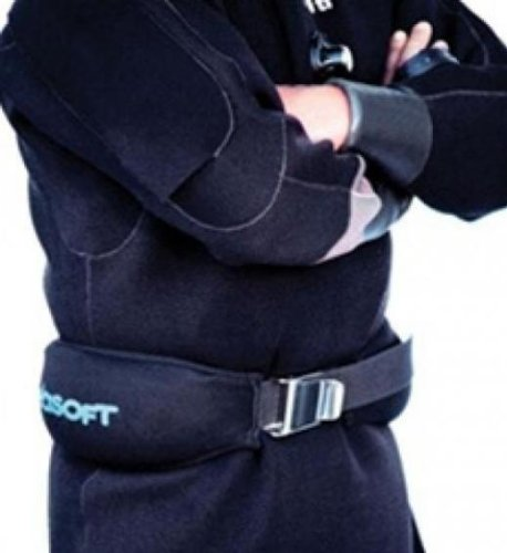 Seasoft Scuba Diving and Snorkeling Soft Weight Belt - 8 Lbs.
