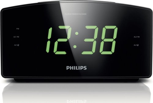Philips AJ3400/37 Clock Radio (Philips Clock Radio)