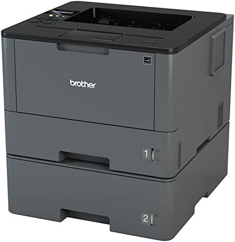 Brother Monochrome Laser Printer, HL-L5200DWT, Duplex Printing, Wireless Networking, Dual Paper Trays, Mobile Printing, Amazon Dash Replenishment Ready 4158nRIhUIL