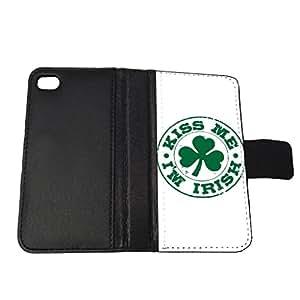 Kiss Me Im Irish - iPhone 6 Wallet Case