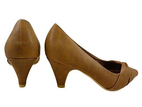 Zapatos grises con cremallera Chaussmaro para mujer VX1JGhPtK