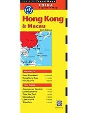 Hong Kong & Macau Travel Map Sixth Edition
