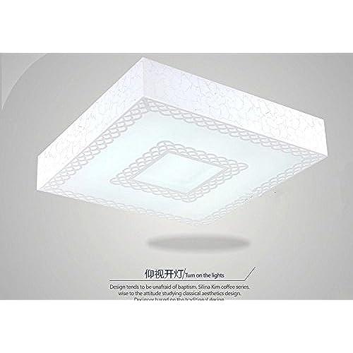 Plafond Minimaliste Lampe Led Lights Light Et De Moderne Angeelee xeodBC