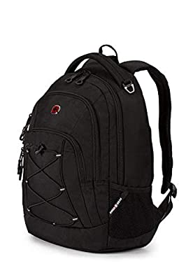 SwissGear 1186 Travel Bungee Backpack (Black) by SwissGear
