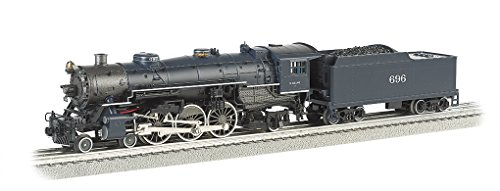Williams by Bachmann 4-6-2 Pacific - Wabash #696 Train for sale  Delivered anywhere in USA