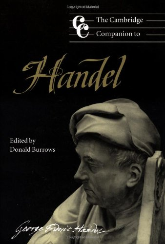 The Cambridge Companion to Handel (Cambridge Companions to Music) by Brand: Cambridge University Press