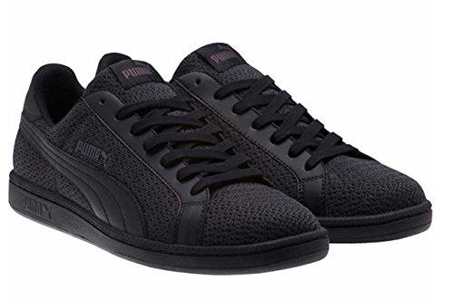 Puma Heren Smash Knit Fashion Sneakers Zwart