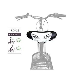 4158owQiRZL. SS300 sellOttO Eva Kant | Giovane Sella Confortevole Anatomica Salva Perineo in Gel per Donna |Ideale per Bicicletta Cyclette…