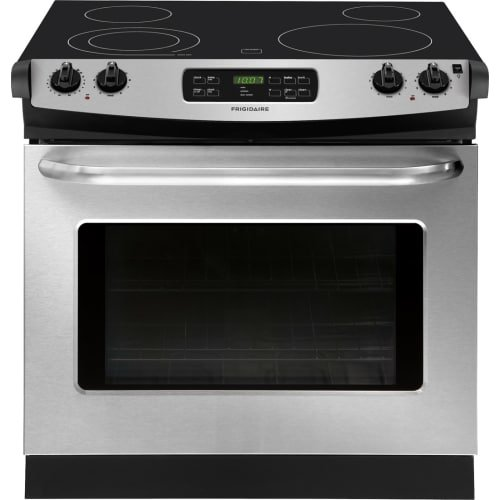 """Frigidaire FFED3025PS 30"""" Stainless Steel Electric Drop-In S"""