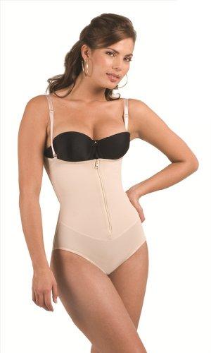 Bella Mia Women's Thermic Panty Body Shaper-S-Beige