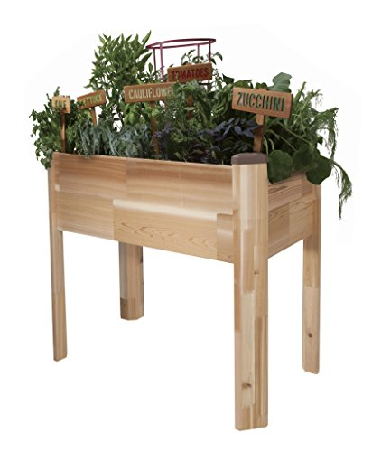 CedarCraft Elevated Garden Planter by CedarCraft