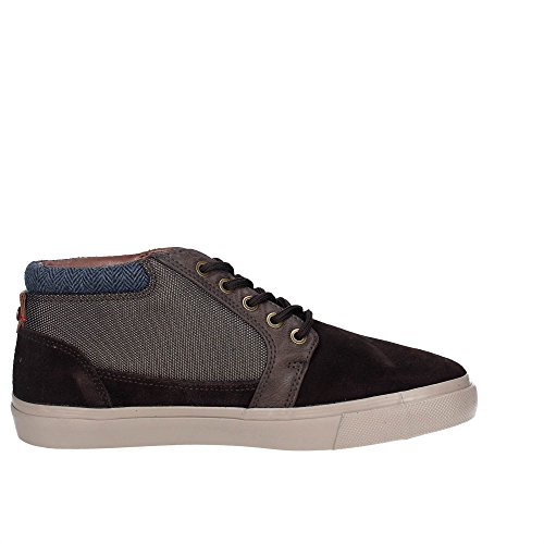 Wrangler Uomo Sneakers WM172130 Alta Marrone r5YqXrtng