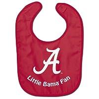 NCAA College Full Color Mesh Baby Bibs (Alabama Crimson Tide All Pro)