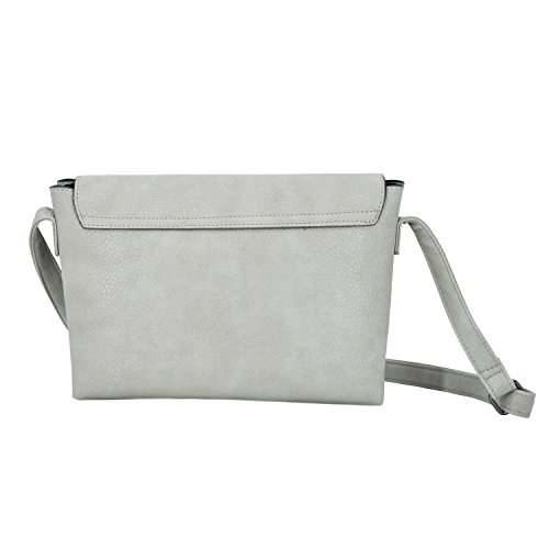 Satchel for Bags Crossbody Medium Purse Travel ESA Shoulder Grey women Womens Bag for 68qnvZnp