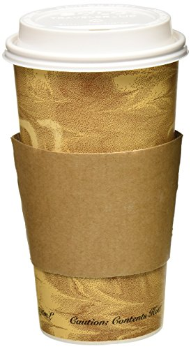 20oz Paper Cups Lids Sleeves product image