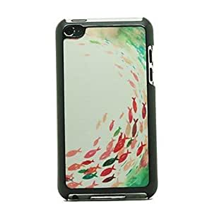 NEW Fish Pattern Hard Case for iPod touch 4