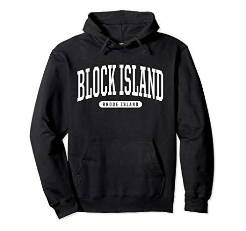 Kids Hoodie Island - Block Island Hoodie Sweatshirt College University Style RI U